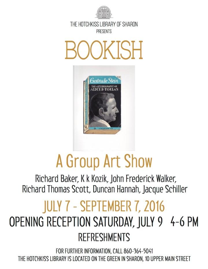 Hotchkiss Sharon Library BOOKISH POSTER JUNE2016 copy 3
